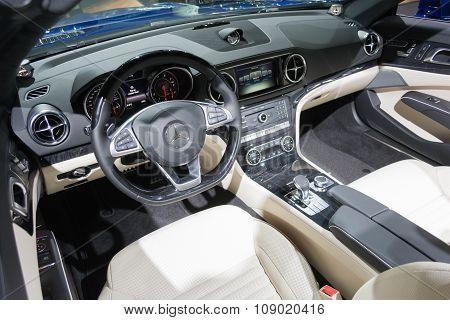 Mercedes Benz Interior