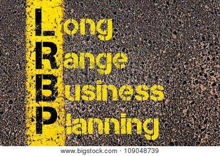 Business Acronym Lrbp As Long Range Business Planning