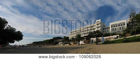 Cala D'or, Majorca, Spain - September 3, 2007: Hotel Rocador In Cala D'or At Cala Gran Bay On Septem