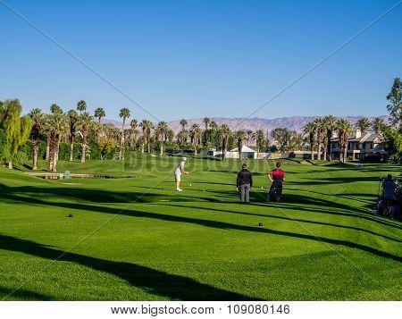 Golfing at the Marriott Villas