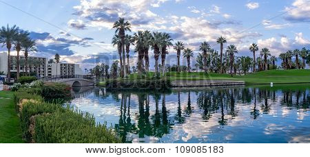 grounds at the JW Marriott Desert Springs