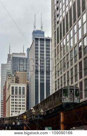 Chicago Cta Subway Loop