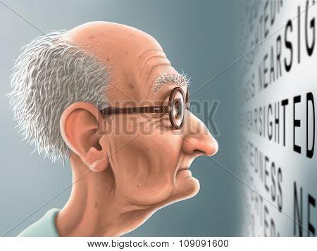 Illustration - Nearsightedness