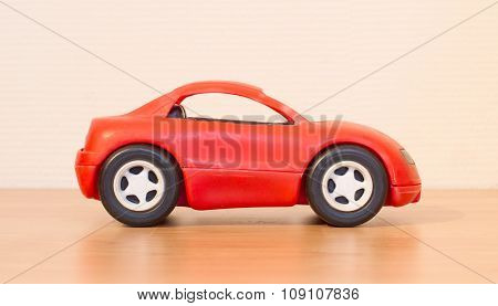 Clear Colored Small Car Toy