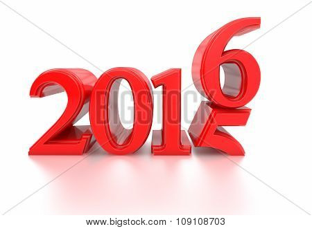 2015-2016 Change Represents New Year 2016
