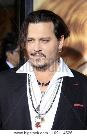 LOS ANGELES - NOV 21:  Johnny Depp at the