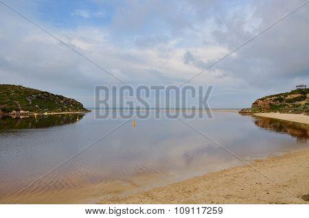 Moore River Mouth Landscape: Indian Ocean/Western Australia