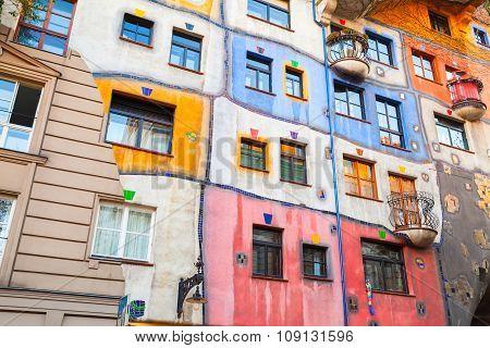 Facade Fragment Of Hundertwasser House
