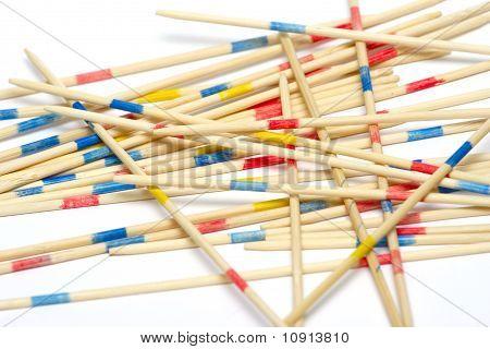 Stack Of Mikado Sticks