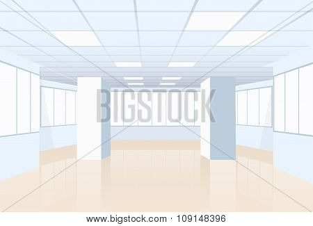 Empty Office Conference Room Studio Building Real Estate