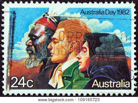 AUSTRALIA - CIRCA 1982: A stamp printed in Australia shows the
