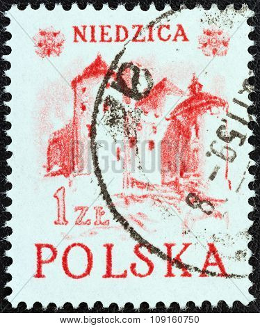 POLAND - CIRCA 1952: A stamp printed in Poland from the