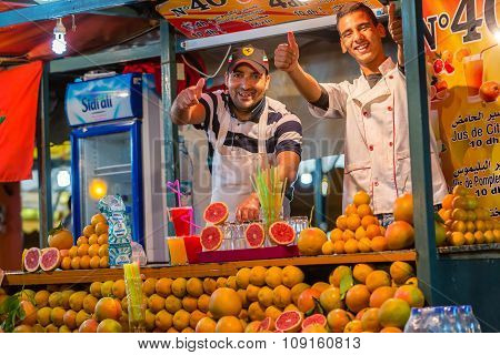 Vendors Of Citrus Juices