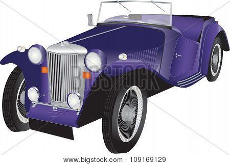Vintage Sports Car
