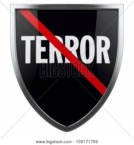 War On Terror Shield Symbol