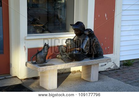 Peace Keeper Sculpture