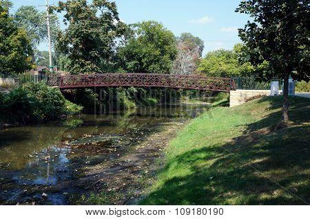 Bridge over the I&M Canal