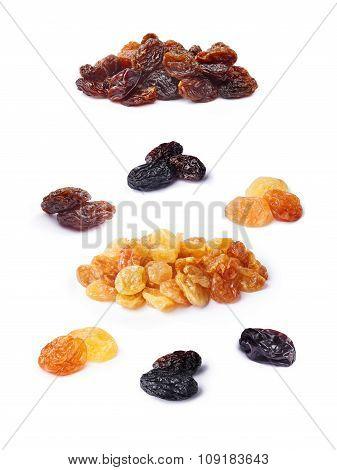 Variety Of Raisins Set