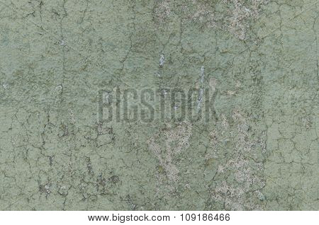 Grayish Green Weathered And Distressed Textured Background Wall Seamlessly Tileable