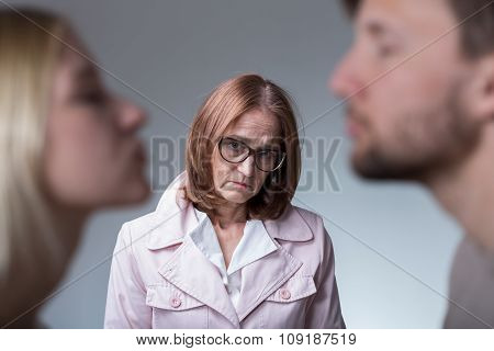 Unhappy Mother-in-law