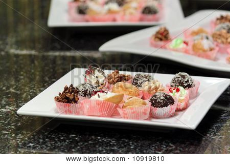 Plate With Cookies