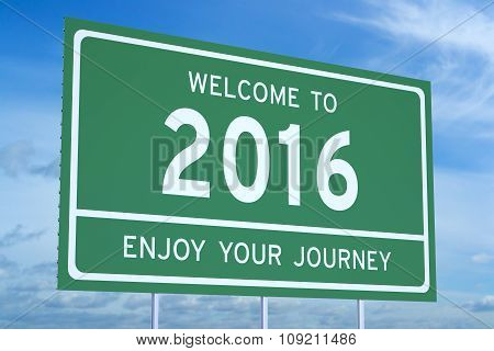 Welcome To 2016 Concept