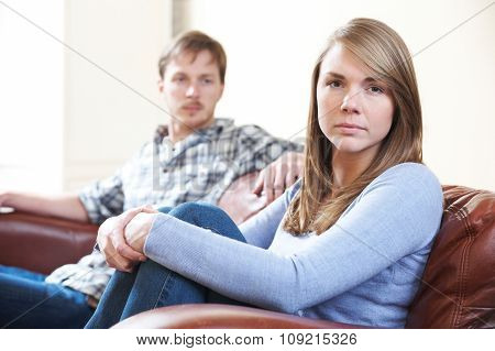Couple With Relationship Difficulties At Home