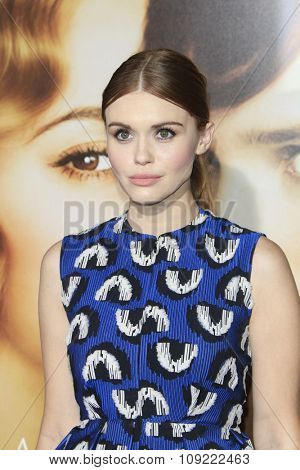 LOS ANGELES - NOV 21:  Holland Roden at the