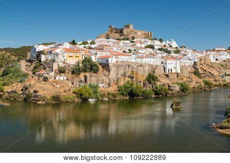 Mertola Town In Portugal