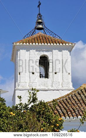 Church Tower of Almegijar La Alpujarra