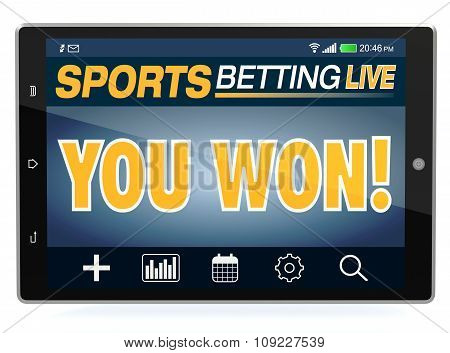 Concept Of Online Sport Bets