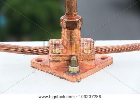 Lightning Rod In Insulators