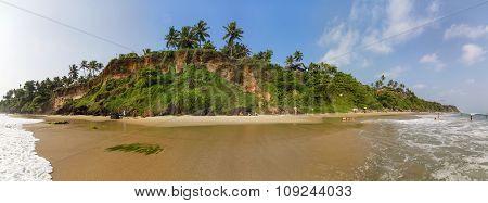 Varkala In Kerala State, India