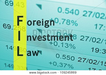 Foreign investment law