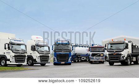 Volvo Trucks Line Up