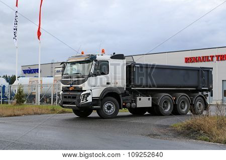 Volvo FMX XPro On A Test Drive