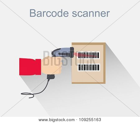 Barcode Scanner Icon Design Style