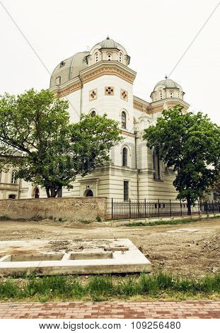 Synagogue In Gyor, Hungary, Architectural Theme