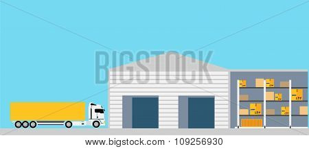 Freight Transportation Concept Design Style