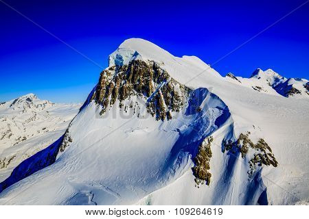 Swiss Alps - view from Klein Matterhorn, Switzerland