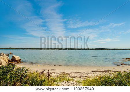 Campers Beach (Thomas Raddall Provincial Park South Shore Nova Scotia Canada) poster