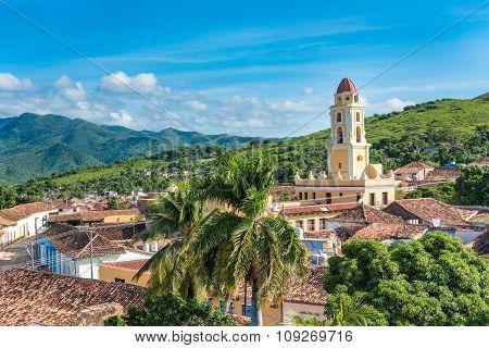 Cuba Tourism: Trinidad Vintage Landmark