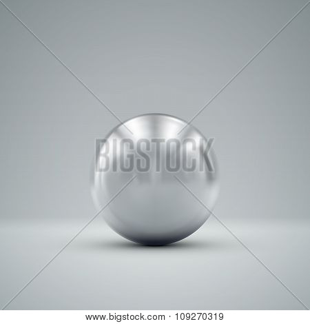 3D metallic sphere