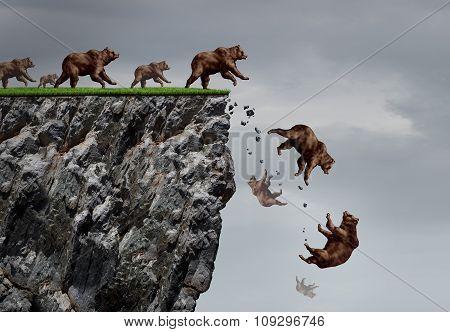 Falling Bear Market Crisis