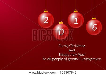 Happy New Year To All People Of Goodwill Everywhere