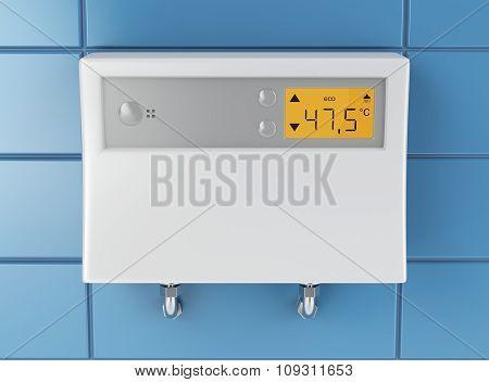 Water Heater In Bathroom