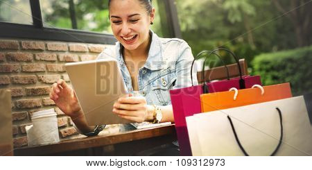 Shopping Buying Commerce Customer Happiness Concept