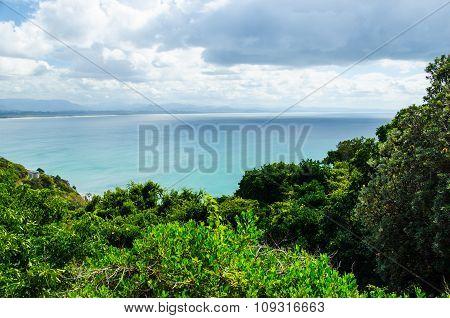 Coastline at Byron Bay