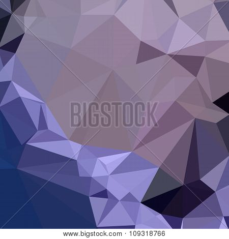 Dark Byzantium Purple Abstract Low Polygon Background