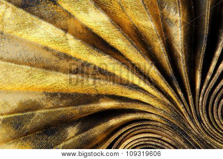 pleated fabric texture